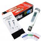 LCD Digital pH Temp DegC DegF Meter IP65 Water Quality Tester w/ Calibration