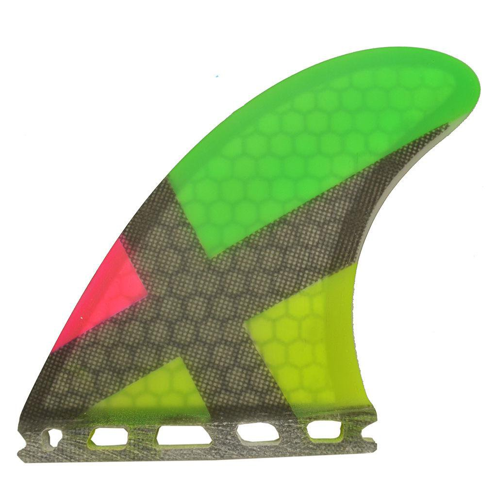 3x Compatible Board fin Fiber Glass Thruster Surfboard fins Honey Comb Hard Fin Free Shipping