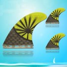 Special Design G5 Size Surfboard Surf Hard Fins For Surfboards 3 Pcs Set