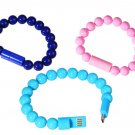 Bead Bracelet Lightning Cable for iPhone 5 6 Plus iPad Mini Air Ipod Touch 5G