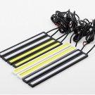 High Quality 20cm Car COB LED DRL Driving Daytime Running Safety Fog Light Lamp