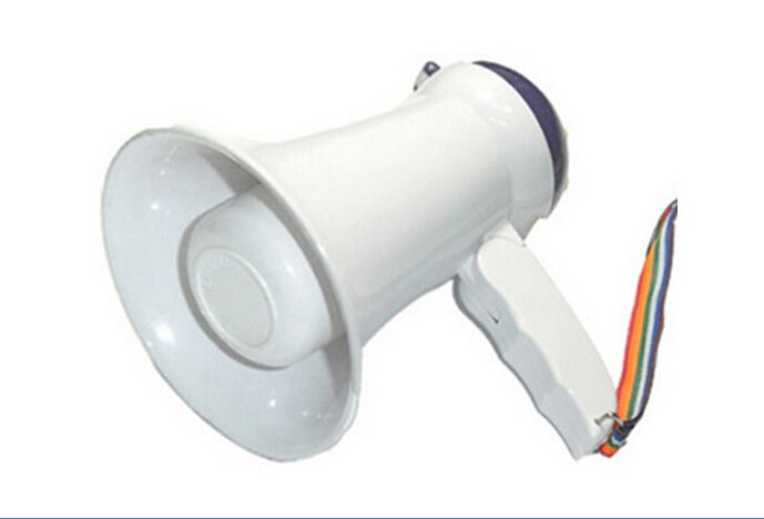 25W POWERFUL MINI SIZE Megaphone BULL HORN Loud COACH SCHOOL RECESS SPEAKER