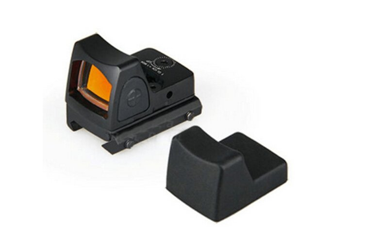 Tactical Airsoft Mini Micro RMR Style Red Dot Sight Scope Side ON OFF switch