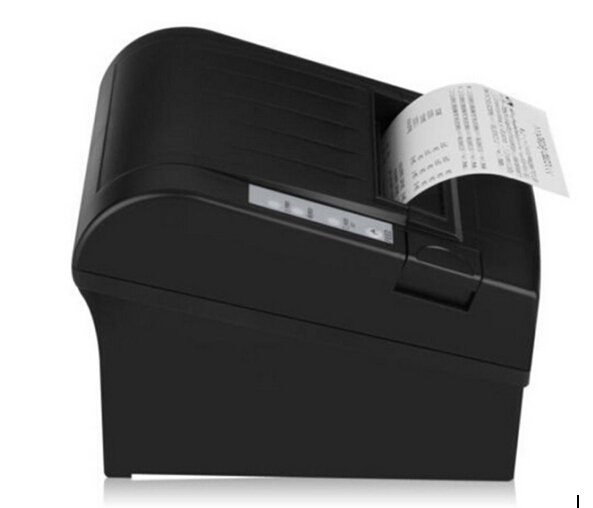 USB Wifi 80mm POS Thermal Receipt Bill Printer Set Auto Cutter Roll Paper