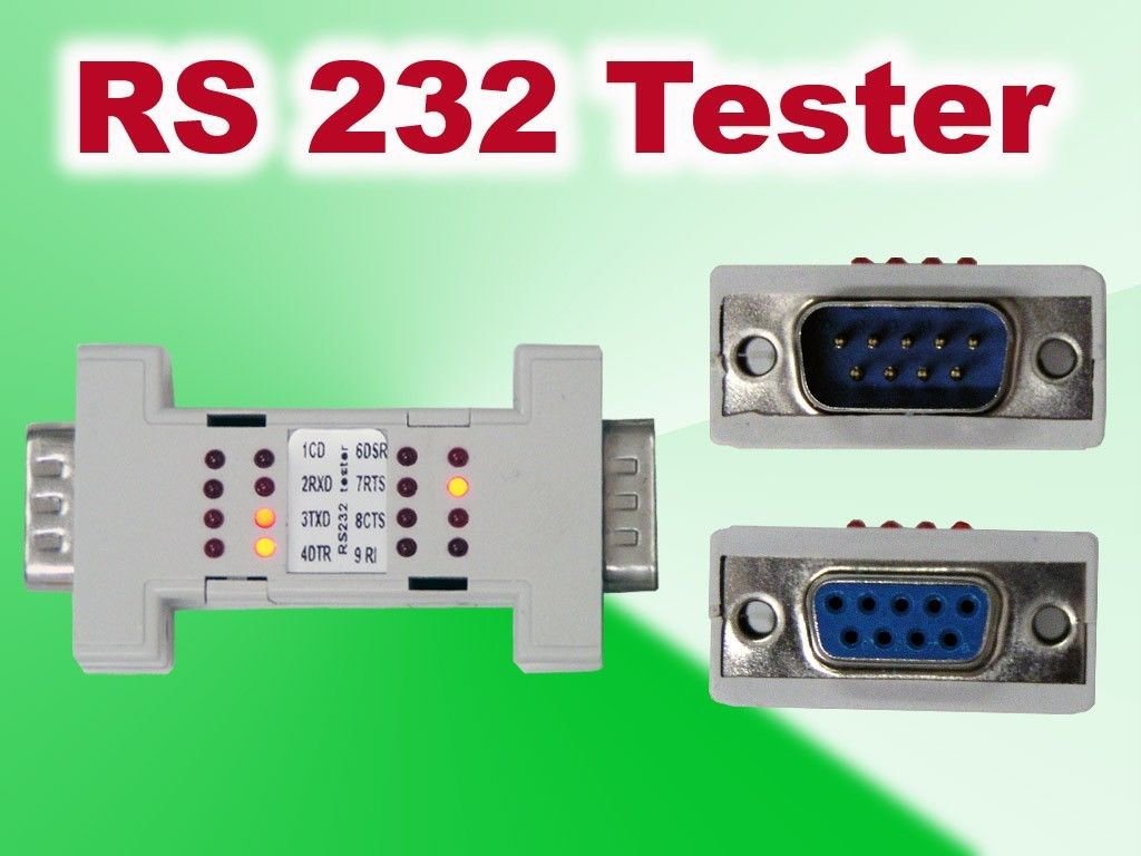 Test Serial Port Cable Rs232 Rs 232 Loopback Loop Back