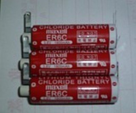 Lithium Chloride Battery MAXELL ER6C (AA) 3.6 V for Mitsubishi PLC