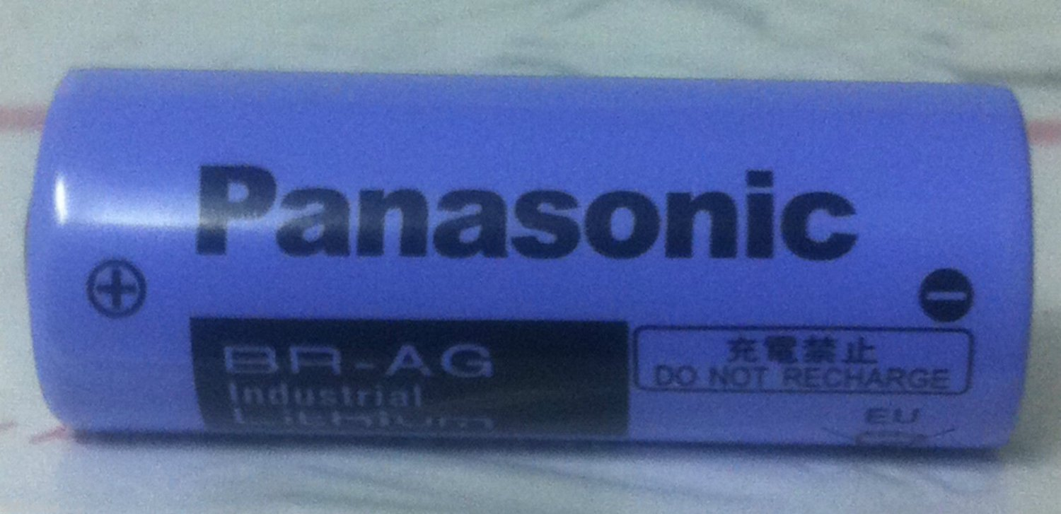 Panasonic BR-AG BR AG 3V 2200mAh PLC Industrial Programming Battery