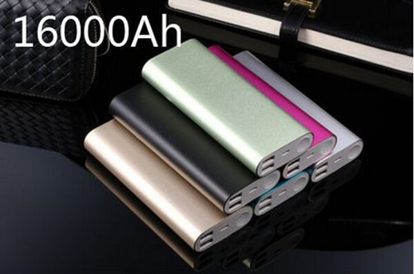 Universal Xiaomi Power Bank Charger MI 16000mAh For Cell Mobile Phone iPhone