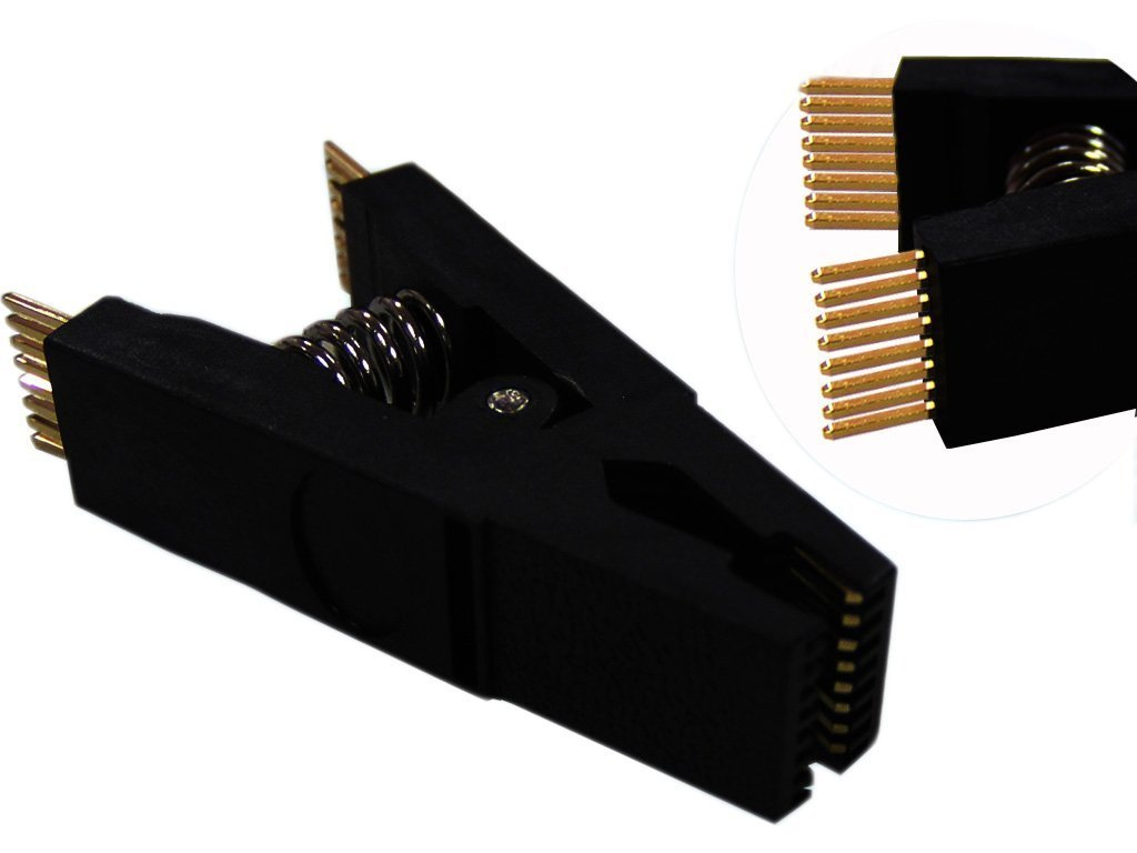 TEST CLIP SOIC 16 WAY SOIC SMD Programming Testing Clip