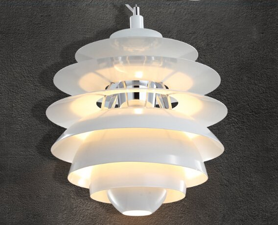 Modern White Snowball Ceiling Light Pendant Lamp Hanging Fixture Contemporary