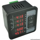 3 PHASE AC VOLTAGE Hz AMPS HOURS ALARM MULTI-FUNCTIONS DIGITAL PANEL METER