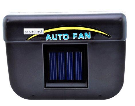 Car Truck Window Ventilator Solar Power Auto Fan Vehicle Cooler Air Vehicle Vent