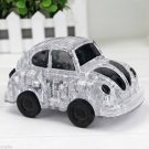 3D Crystal Puzzle Jigsaw DIY Model VW Volkswagen Beetle Car Clear White Black