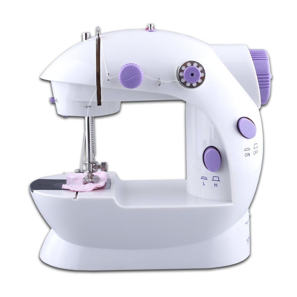 Portable Mini Electric Home Travel Sewing Machine Handheld Tool 2 Speed