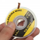 5 Feet /1.5M 3mm Desoldering Braid Solder Remover Wick Wire Repair Tool