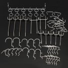 50Pcs Pegboard Hook Assortment Kit Storage Stores Garage Organizing Hanger Tools