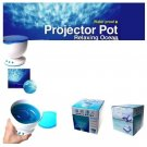 New USB Modern Blue Ocean LED Light Sea Projection Projector Lamp Bulb Touch