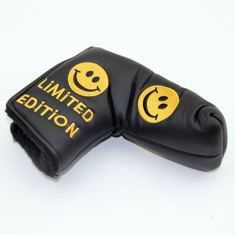 Smile Face Golf Putter Cover HeadCover For Scotty Cameron Taylormade Odyssey