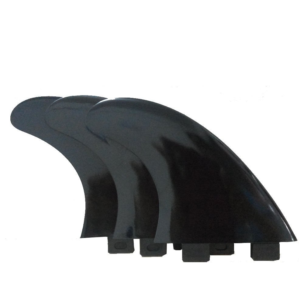 Surfboard Surf Board fin FCS G5 Surf 2+1 3 pcs Thruster Tri Fins Set Black
