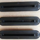"Future Fin 3/4"" Fin Box Set 3pcs Black Future Base Box for Surf Surfboard"
