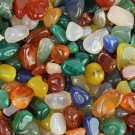 1/2 0.5 lb Colorful Bulk Assorted Tumbled Stone stones Crystal Healing Reiki