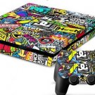 2x Skin Wrap Sticker For PS4 Playstation Decal Cover Accessory Sticker Cartoon