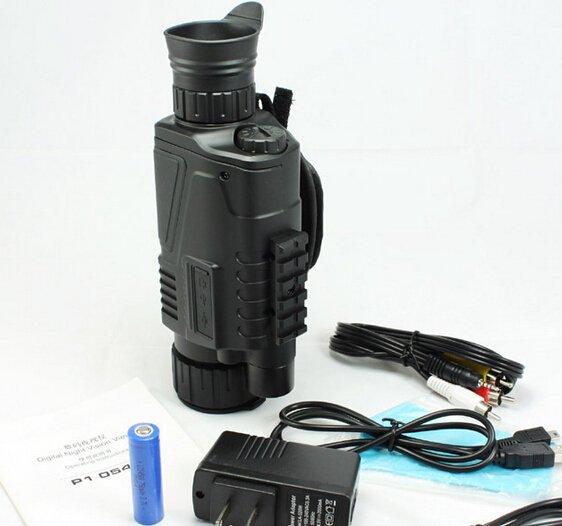New 5X40 Digital IR Night Vision Monocular 200m Range Takes Photo Video DVR