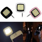 Selfie rechargeable Flash Light Natural White LED Lamp for Phone Smartphone