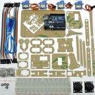 Mini Industrial Robotic Robotics Arm kit Servo Joystick UNO R3 for Arduino use