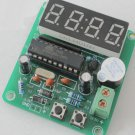 4 Bits Digital Electronic Clock Microcontroller MCU Chip Self Study DIY Kit