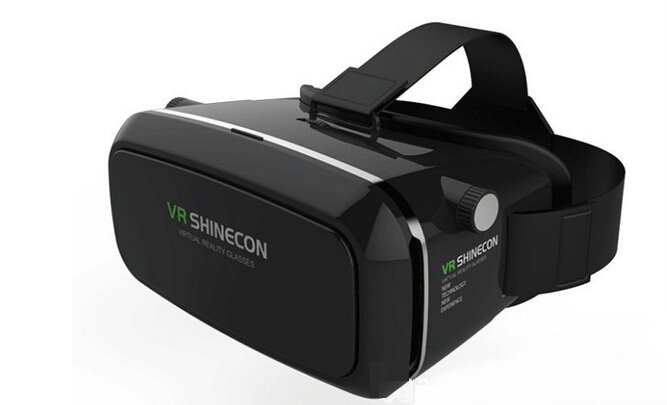 3D Video Glasses for iphone Google Cardboard & Free Remote Gamepad Controller