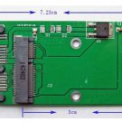 """mSATA Mini PCI-E SSD 30 mm*50 mm to 1.8"""" Micro SATA 7+7+2 pin Adapter card"""