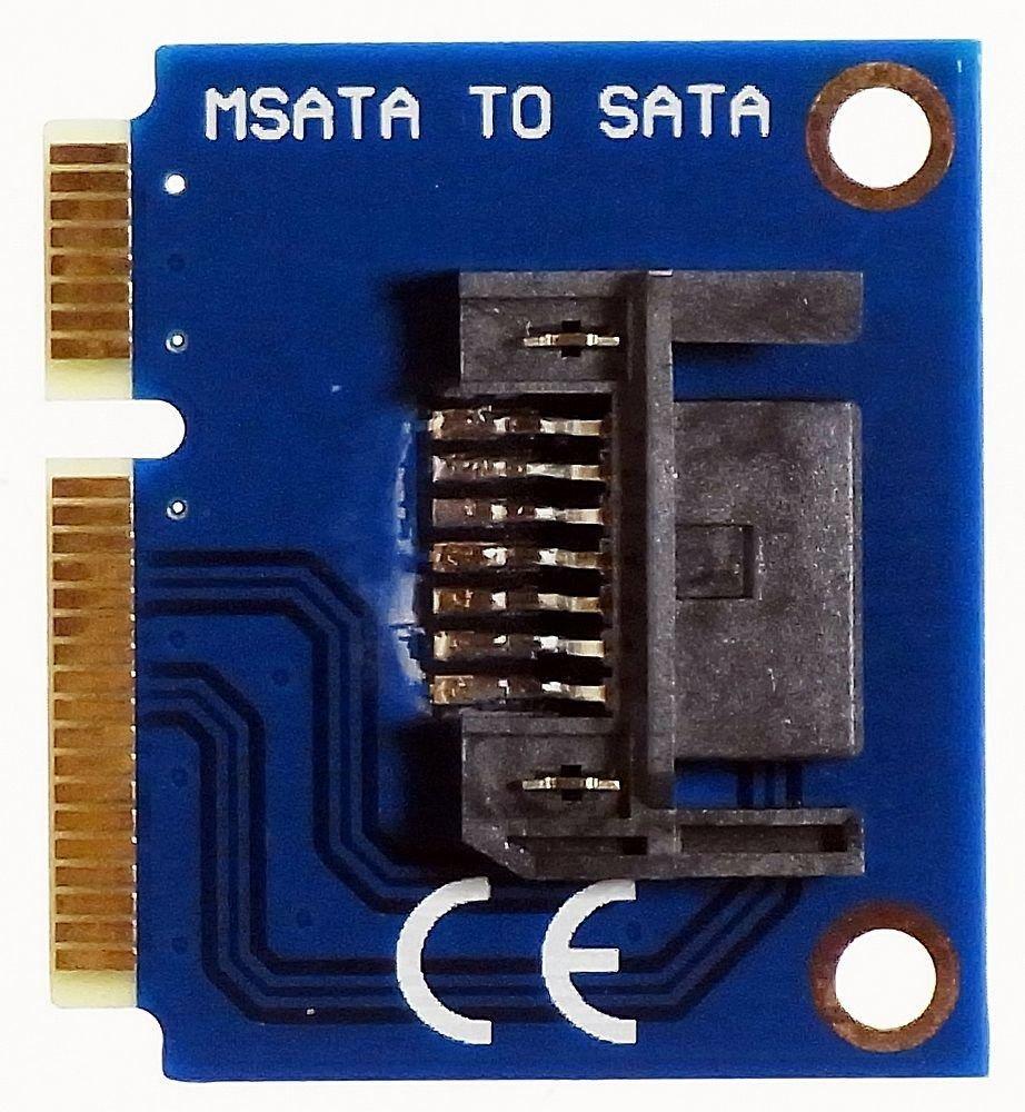 MSATA to SATA 7 pin SSD Festplatte HDD Mini PCIe mSATA Adapter Converter