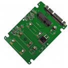 "mSATA Mini PCIE SSD to 7+15 PIN 2.5"" SATA Adapter Converter Card"