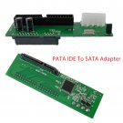 PATA IDE To Serial ATA Adapter Converter Card For 3.5 2.5 Inch SATA HDD DVD New
