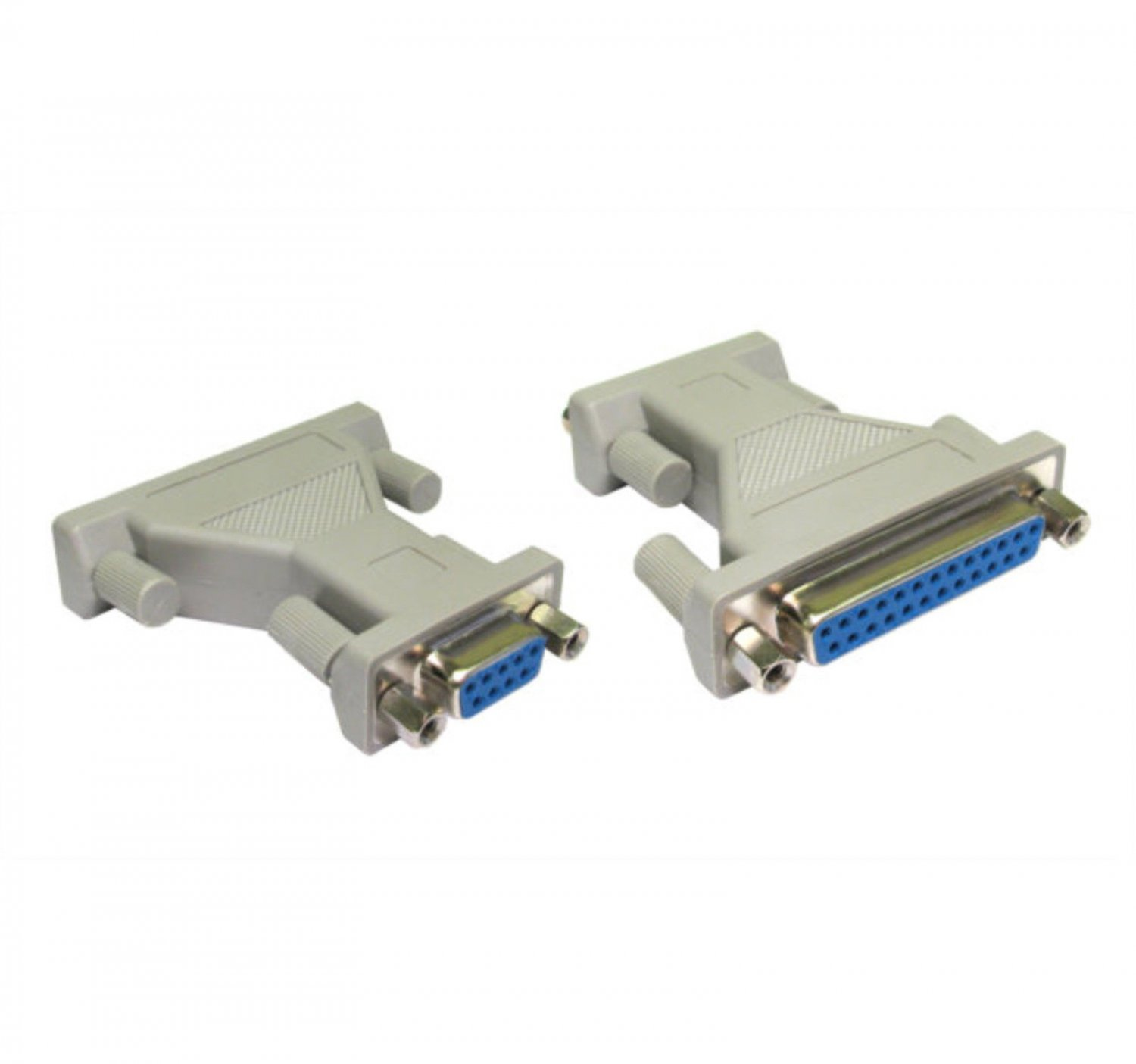 9 Pin Serial RS232 DB9 Female to DB25 Pins Female AT Parallel Adapter Converter