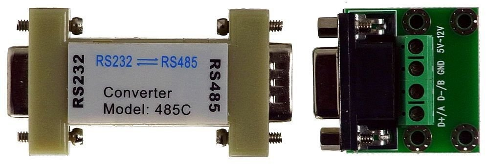 RS232 to RS485 Interface DB9 female RS 232 485 Connector Adaptor Converter