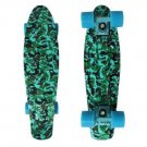 Mini 22'' Style Retro Skateboard Penny Skate Board Complete Graphic Plastic Deck