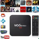 New KODI XBMC MXQ PRO 4K Amlogic S905 Quad Core Android TV Box Fully Loaded USPL