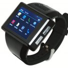 G-senor Android 4.1 Dual Core Touch BT Smart Watch GSM Phone 2.0MP WiFi GPS FM