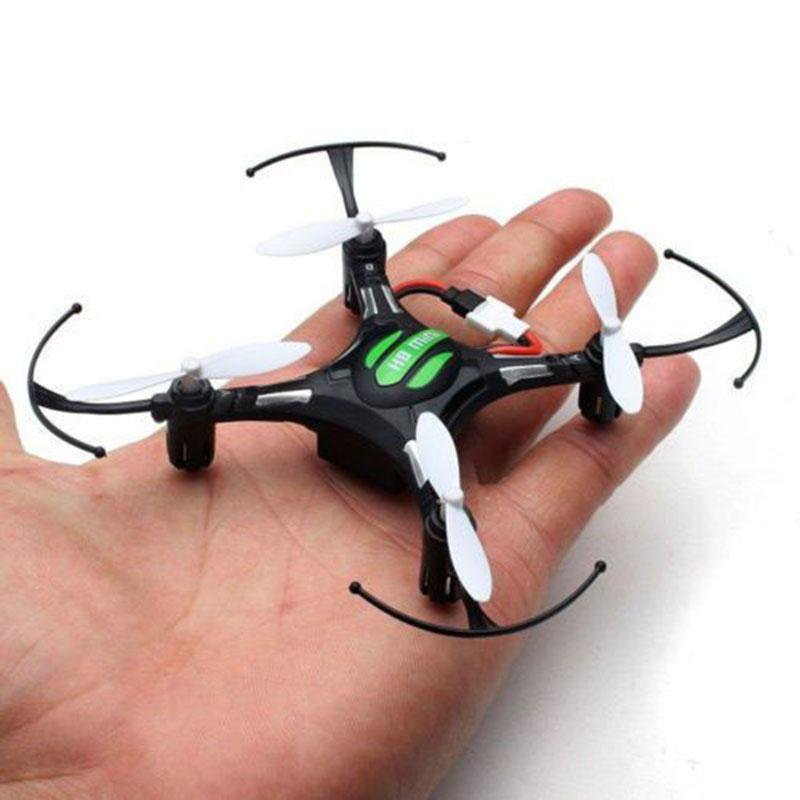 New Mini Small Light Weight Size Gyro RC Quadcopter Drone 5.8G Flying Plane