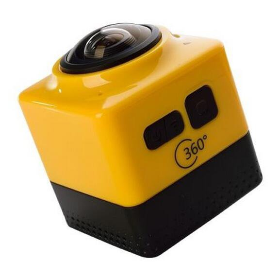 Sports Action Cam 720P 360 Degree Panoramic DV VR Helmet Camera Built in WIFI