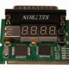 Four Digits Diagnostics Notebook Dual Mini PCI Minipci LPT PC Post Card Tester