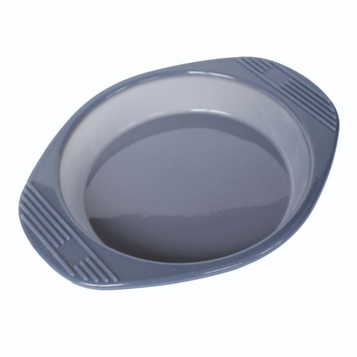 "Useful 7.9"" Round Silicone Bakeware Pan Cake Pie Bread Mold Oven Tray Dish Plate"