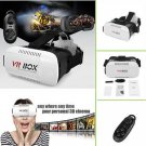 New VR Box Version Google Virtual Reality 3D Glasses Hot Sale Gamepad Head Mount