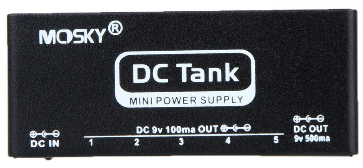 DC Tank Mini Power Voltage Supply 9V Guitar Effect Pedal Six Isolated Outputs