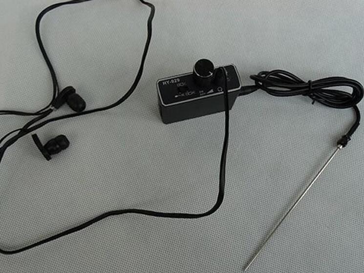Upgrade version Wall microphone voice ear listen hear through wall device bug
