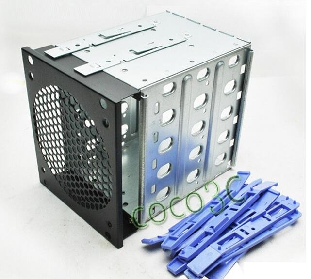"PC 5 Bays Drives Protect Case 3.5"" SATA SAS IDE HDD Enclosure Docking Station"