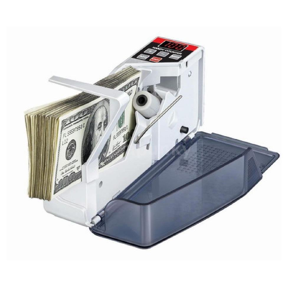 Mini Handy Bill Money Paper Counter Currency Cash Counting Machine Counterfeit
