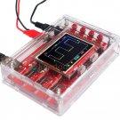 TFT Digital Oscilloscope Millivolt meter Kit DIY Parts Acrylic DIY Case Cover